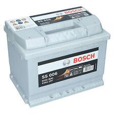 PKW Autobatterie 12 Volt 63 Ah Bosch S5 006 Starterbatterie ersetzt 60Ah 65Ah