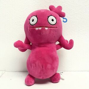 """Preowned Hasbro Ugly Dolls Moxy Large Cuddly Plush 16"""" Pink"""