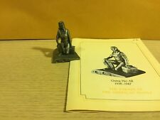Saturday Evening Post Franklin Mint Pewter Figurine Giving Her All