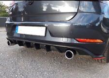 Golf 7 Gti Facelift Diffusor Heckansatz Heckdiffusor TCR VW VII Schwarz Matt