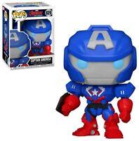 MINT Marvel Avengers Mech Strike Captain America Funko Pop Figure #829