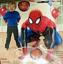 """Marvel Spider-Man 36"""" Jumbo 3D Airwalker Balloon Birthday Party"""
