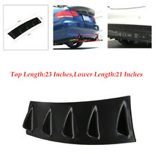 Top Length 23 Inches Rear Bumper Chassis Shark Fin Lip Diffuser high quality