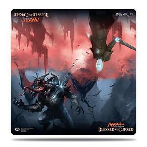 Magic the Gathering 24 inch x 24 inch Play Mat Blessed Vs. Cursed UPR 86334