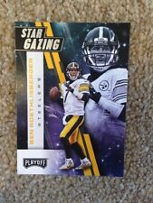 ++ BEN ROETHLISBERGER 2017 PANINI PLAYOFF STAR GAZING NFL CARD #15 - STEELERS ++