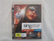 Singstar Pop Edition + Singstore Blu-Ray Region 4 - PS3