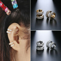 Ohrringe Double Band Ear Cuff Kein Piercing Ohrring Klammer des Ohres