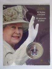 Canada 25 cent 1926 --2006 Queens 80th Birthday Coin /mint Sealed /