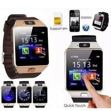 LATEST Bluetooth DZ09 Smart Watch Camera SIM Slot For HTC Phone Samsung Android