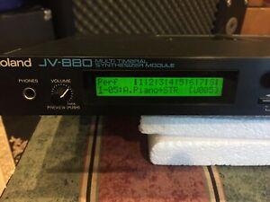 Roland JV 880 Keyboard Module W/Orchestral expansion card