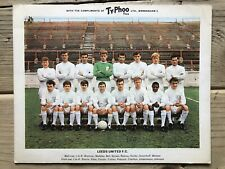 More details for leeds united f.c. second series typhoo tea famous football clubs card 1965/66