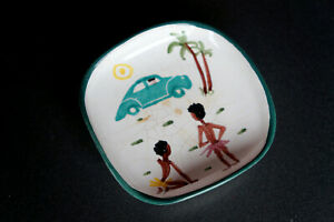 kleiner Aschenbecher Keramik Weber Köln