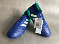 Adidas Predator 18.1 Leather Mens FG Football Boots Size 8 UK (EURO 42)