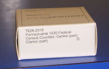 1930 Pennsylvania Federal Census Microfilm Centre Clarion County Genealogy PA