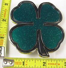 FOUR LEAF CLOVER BELT BUCKLE 4 LUCK LUCKY IRISH B245