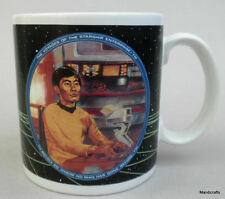 Coffee Mug Star Trek Movie Sulu 1991 Art Susie Morton 0786.28 George Takei 12oz