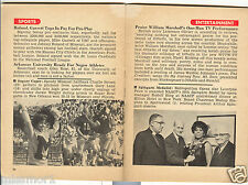 Willie Mays Charlie Brown Missouri Football Sugar Ray Robinson Jet mag 1966