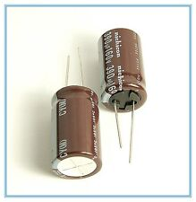 (2pcs) 390uf 160v Nichicon Radial Electrolytic Capacitors .18x32mm 160v390uf