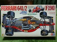 Tamiya 1/12 Ferrari 641/2 (F190) F1 formula Plastic model Japan USED