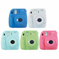 FujiFilm Fuji Instax Mini 9 Instant Photos Films Polaroid Camera Multiple Colors
