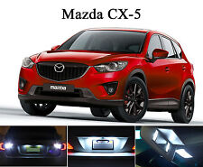 White LED Package - License Plate + Vanity + Reverse for Mazda CX-5 (8 Pcs)