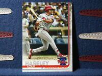 2020 Topps Update #US139 Adam Haseley RC Philadelphia Phillies