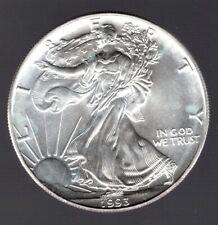1993 American Silver Eagle BU
