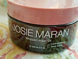 Josie Maran Whipped Argan Oil  MILK & HONEY Ultra hydrating Body Butter 8 oz