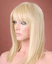 NEWJF967 health hair blonde medium bangs Hair fashion Hair wig wigs for women