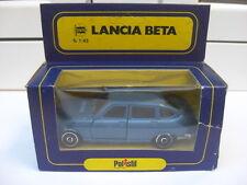 Lancia Beta 1800 blue Polistil A43 1:43 MIB n gamma politoys