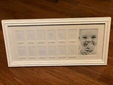 Growth Baby Picture Frame Stepping Stone Baby's First Year Newborn Shower gift