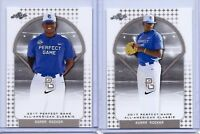 "(2) KUMAR ROCKER 2017 ""1ST EVER PRINTED"" PERFECT GAME AAC ROOKIE CARD LOT!!!"