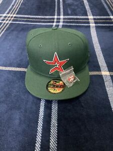 """Houston Astro's Hat Club Exclusive """"Watermelon"""" Collection Red Bottom 7-1/2"""