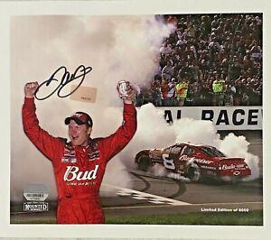 Dale Earnhardt Jr. Signed 8x10 NASCAR Photo Auto Fanatics Hologram