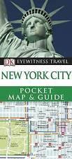 DK Eyewitness Pocket Map and Guide: New York City by Dorling Kindersley Ltd...