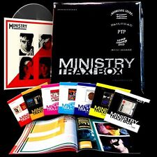 MINISTRY Trax! Box 7 CD 1 Vinyl Al Jourgenson Revolting Cocks Wax Trax Homo Dj's