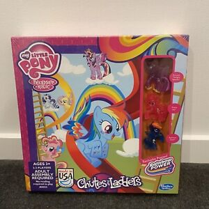 Hasbro My Little Pony Chutes And Ladders Board Game Exclusive Ponies New *SEALED