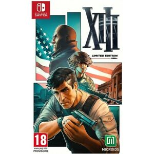 XIII - LIMITED EDITION NINTENDO SWITCH NEW PreOrder 31/03/2021 NEW SEALED