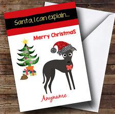 Funny Dog Poo Personalised Christmas Card