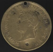 1821 George IV Medal Visit To Ireland Erin Go Bragh | Pennies2Pounds