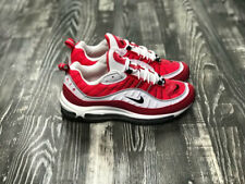 Nike Air Max 98 Red White sneakers fashionable rubber men's and women's NIKE