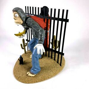RARE Banksy Art Action Figure Vinyl Toy Created artist, Mike Leavitt & FCTRY