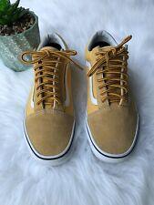 Unisex Vans Old Skool, Men's Size 6.5, Women's 8, Mustard Yellow