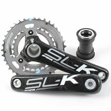 FSA SLK Carbon Fiber BB30/PF30 Mountain Bike Crankset w/PF30 175mm 10Speed 39/27
