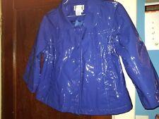 Live a little pvc raincoat sz L