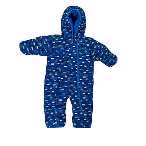 Columbia Snowsuit Baby Boys Bunting EUC Winter Size 6-12 Months