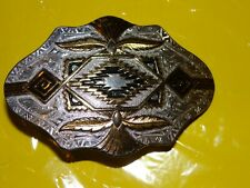"New ListingPre-Owned Montana Silversmiths Belt Buckle 2"" x 3"""