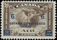 VEGAS - 1932 Canada - Sc# C4 - Air Post Ottawa Conference - MNH OG -Read- (FB38)