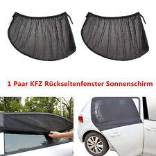 2x KFZ Rückseitenfenster Sonnenschirm Sonnenblende UV Sonnenschutz Mittelgroß