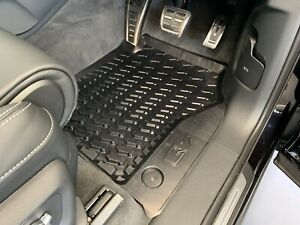 Genuine Audi Q7 Rubber Floor Mats Front and Rear Set New Q7 2016-Current